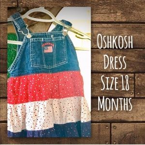 Oshkosh Dress Size 18 Months